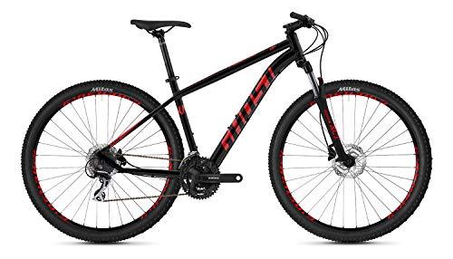 Ghost Kato 2.9 AL U 29R Mountain Bike 2020 (S/42cm, Jet Black/Riot Red)