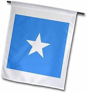3dRose fl_158431_2 Flag of Somalia Somalian African Country East Africa World Garden Flag, 18 by 27