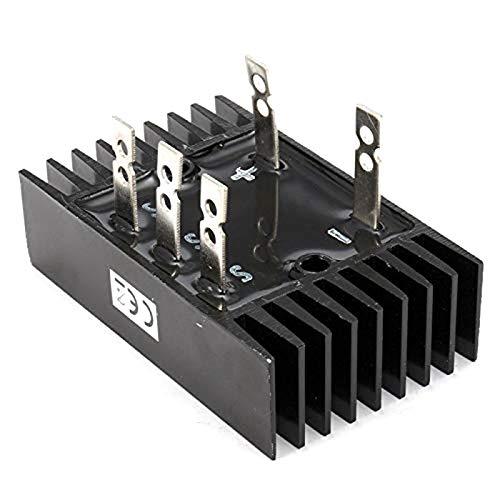 CUHAWUDBA 1PC Rectificador de Puente de Diodo TrifáSico 150A 1200V SQL150A MóDulo ElectróNico de Aluminio de 200 Grados Componentes ElectróNicos