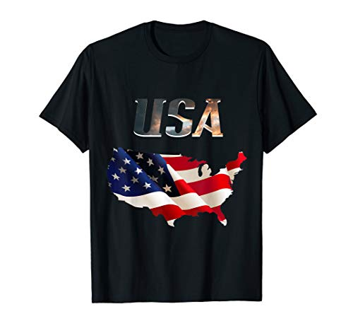 USA Flagge, Kontient T-Shirt