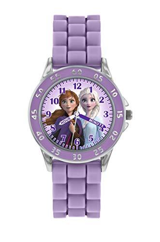 Disney Girl's Analog Quartz Watch with Silicone Strap FZN9505