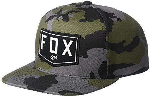 Fox Shield Snapback Hat Camo