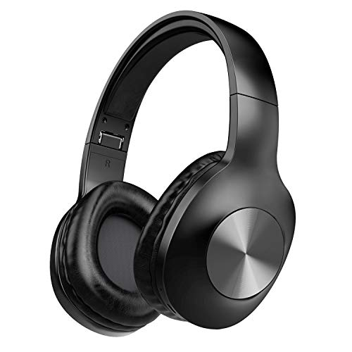 LETSCOM Bluetooth Headphones, 100 Hours Playtime Bluetooth 5.0 Headphones Over Ear with Deep Bass,...