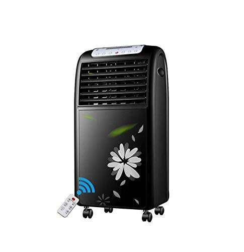 Mobile Klimaanlage Ventilator Heizen Kühlen Fernbedienung Klimageräte Geräuschlos Oszillierender 3 Geschwindigkeiten Boden Ventilator Timerfunktion