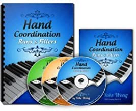 Piano Runs, Fillers and Hand Coordination Course: Piano Chords (3 DVDs, 1 Book) (Home Study Course)