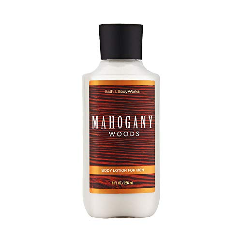 Bath & Body Works Mahogany Woods Body Lotion, 8 Ounce
