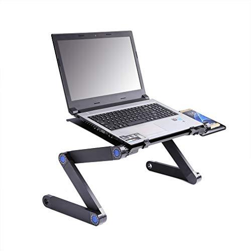 Shnorm - Mesa para ordenador portátil, plegable, con soporte para ratón, para cama, sofá, escritorio