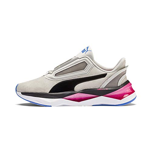 PUMA LQDCell Shatter XT Shift Q4 Wns, Zapatillas Deportivas para Interior para Mujer, Glacier Gray White, 40.5 EU