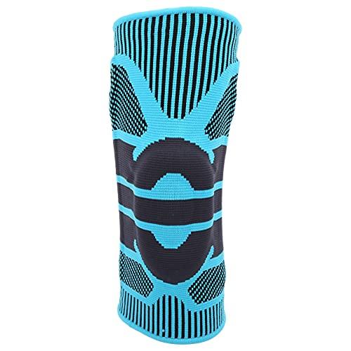 BOLORAMO Rodillera de Gel de sílice, Rodillera de Seguridad Deportiva 360 ° se Adapta a la Rodilla 3D Que Teje para Deportes al Aire Libre(M)