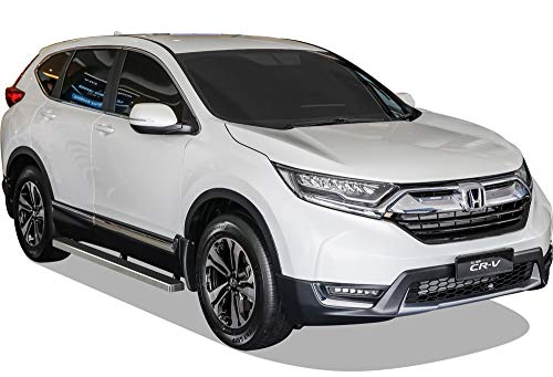 APS iBoard (Silver 4 inches) Running Boards Nerf Bars Side Steps Step Rails Compatible with CR-V 2017-2021