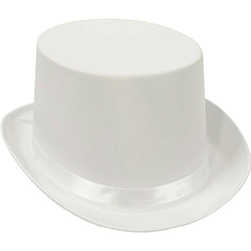 White Top Hat- 1 Pc.