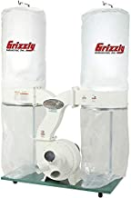 Grizzly Industrial G1030Z2P - 3 HP Dust Collector with Aluminum Impeller - Polar Bear Series