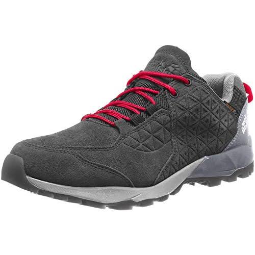 41DrDeuIuWL. SS500  - Jack Wolfskin Men's Cascade Hike Lt Texapore Low M Rise Shoes