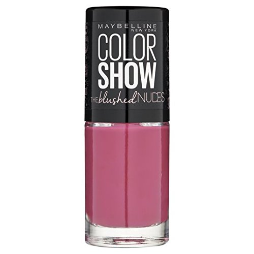 Maybelline Nail Color Show Blushed Nudes, Purpurrot Flush 449