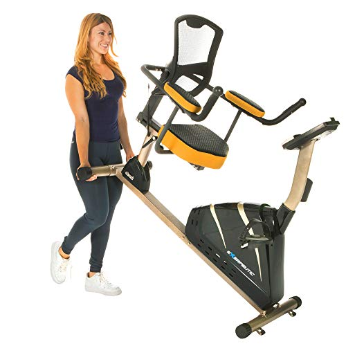 Exerpeutic 4000 Magnetic Recumbent Bike