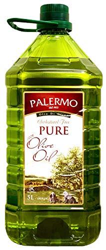 Palermo ピュア オリーブオイル【大容量 5リットル】5L ペットボトル【高温加熱料理向き】Palermo Pure Olive Oil 5L