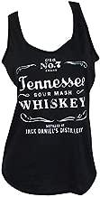 Jack Daniel's Tennessee Whiskey Women's Tank Top (Medium) Black