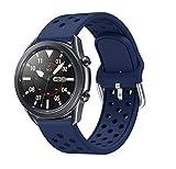 AOTVIRIS Compatible con Correa Galaxy Watch 3 45mm/Galaxy Watch 46mm/Gear S3 Frontier/Classic 22mm...