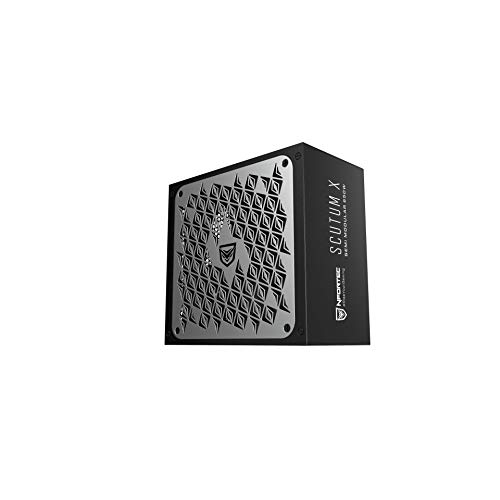 Nfortec Scutum X Semi Modular 750W - Fuente de alimentación para PC...