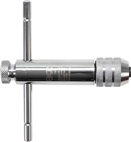 Preisvergleich Produktbild BGS 1981 / Werkzeughalter mit Gleitgriff für Gewindebohrer / M5 - M12 / 110 mm / rechts + links umschaltbar