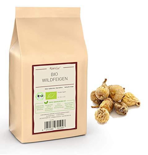 1kg di fichi selvatici BIO essiccati - fichi d'oro spagnolo naturale, non zuccherati e insolubili