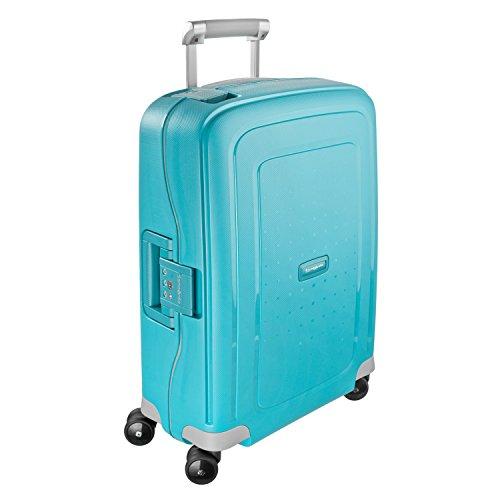 Samsonite S'Cure Hardside Luggage, Aqua Blue, Carry-On