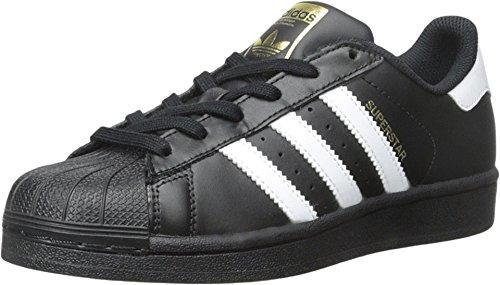 adidas Originals Superstar, Zapatillas Niños, Core Negro Blanco Negro, 36 2/3 EU