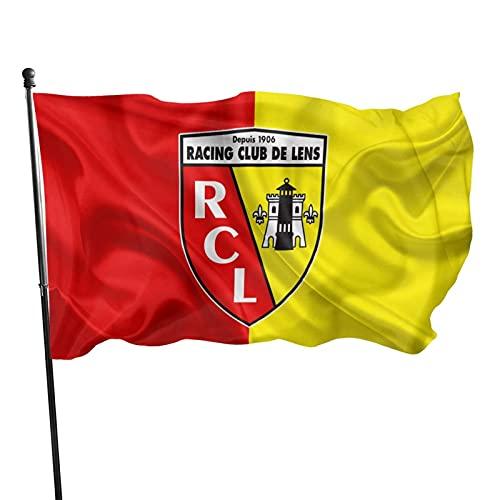 Rac-Ing Cl-Ub De Le-Ns Familienflagge Gartenflagge Garten Gedruckt Willkommen Party Fahne Deko Flaggen Wettkampf Flaggen