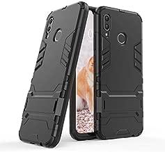 Cocomii Iron Man Armor Huawei Nova 3 Case, Slim Thin Matte Vertical & Horizontal Kickstand Reinforced Drop Protection Fashion Phone Case Bumper Cover Compatible with Huawei Nova 3 (Jet Black)