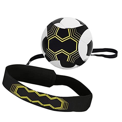 D-Work Ceinture à Ballon Taille 3, 4, 5 pour entraînement Football Solo - Support néoprène Haute...