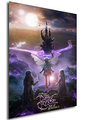 Instabuy Poster - TV Series - The Dark Crystal - Age of Resistance - Season 1 - Playbill A3 42x30
