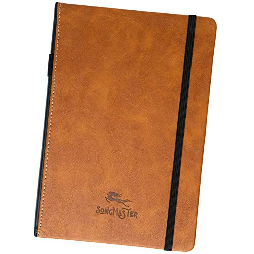 Product Image of the Songmaster Songwriting Journal • Crazy Horse Vegan Leather • Hardcover Blank...