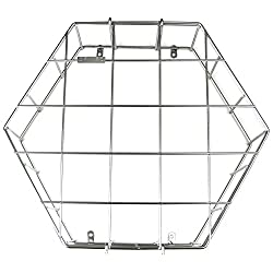 American Time Steel Wire Clock Guard for 12 Clock - for Gym, Hallway or Classroom