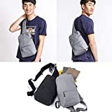 Xiaomi -Mi City Sling Bag -Gris Perle Sac à dos Unisexe