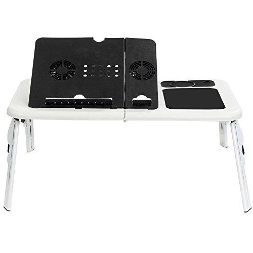 tempo di saldi Tavolino Pc Supporto Pieghevole Notebook Computer Tablet Tavolo con Ventole