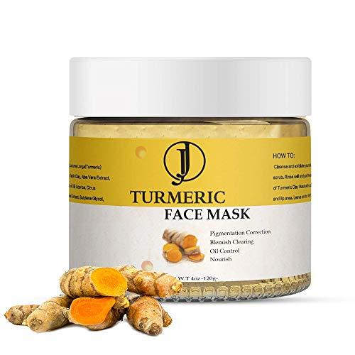 JJ Beauty Turmeric and Vitamin C Facial Mask