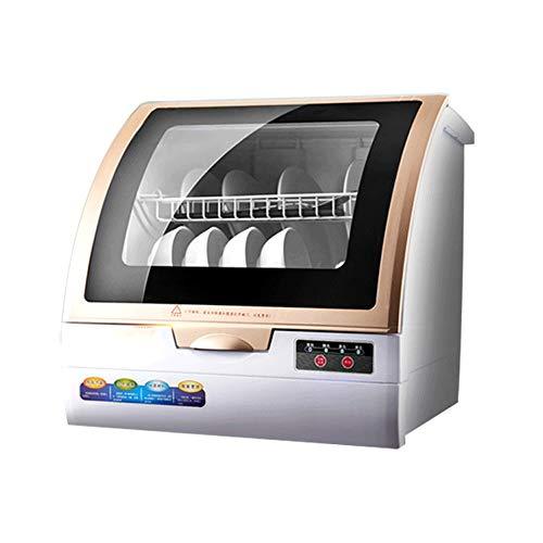 Barir Lavavajillas Completamente automática de Hogares Pequeño Smart Desktop Libre de la instalación de Gran Capacidad del Aire de Secado de la máquina de Cepillo de Ahorro de Agua