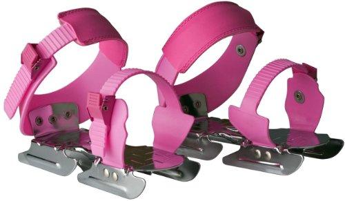 Nijdam Jungen Schlittschuh Children's Ice Skate Schuhe, verstellbar Rosa Pink - pink Einheitsgröße