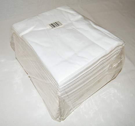 Spun-Lace Lot de 800 serviettes blanches 40 x 50 cm