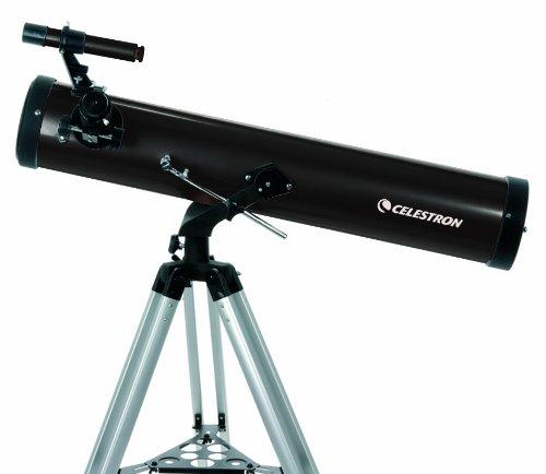 Celestron 21044 76 mm PowerSeeker Reflector Telescope