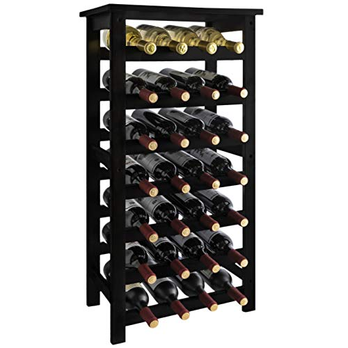 URFORESTIC 28-Bottle Wine Rack
