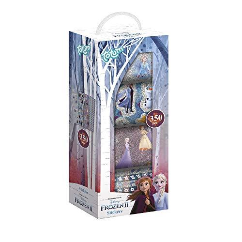 Disney Frozen II Stickerbox mit über 350 Laser-Stickern von Anna & Elsa