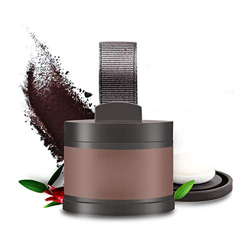 4 kleuren Sevich haarlijn poeder haarlijn schaduw bedekken poeder vullen dunner wordend haar schoonheid cosmetica (lichte koffie)