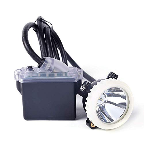 Hunting Friends Mining Headlight, 1+2 LED Rechargeable Miner Lamp Hard Hat 18650 Battery Package With Led Lights Mining lamp Waterproof Headlight Explosion Proof Cap