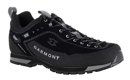 GARMONT Dragontail LT Black - Zapatillas de escalada con suela Vibram