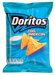 Doritos cool americano 44 gr 20x | Peso total 880 gr.