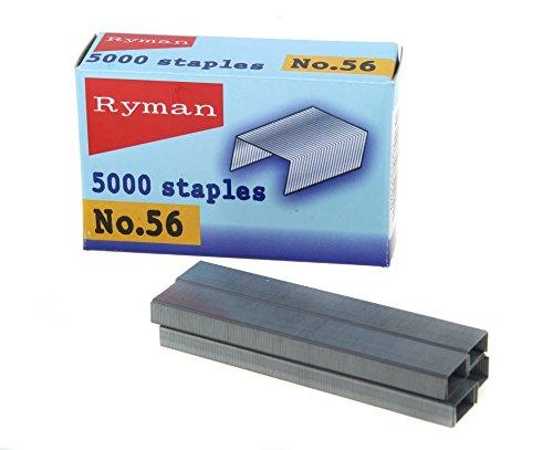 Ryman 5000Heftklammern Größe Nr. 56(12,7mm x 6mm)