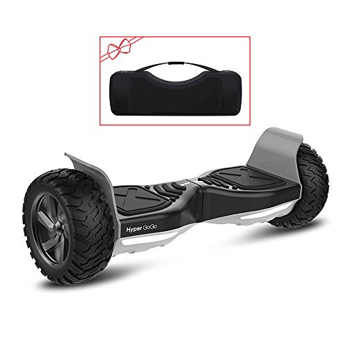 "HYPER GOGO Hoverboard 8.5"" Smart Self Balancing Electric Wheel Scooter Built-in Bluetooth Speakers,Carry Bag - UL 2272 Certified"