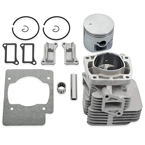 RANSOTO Cylinder Gasket Piston Ring Kit 51mm Compatible with Redmax EBZ8500 EBZ8500RH Backpack Blowers