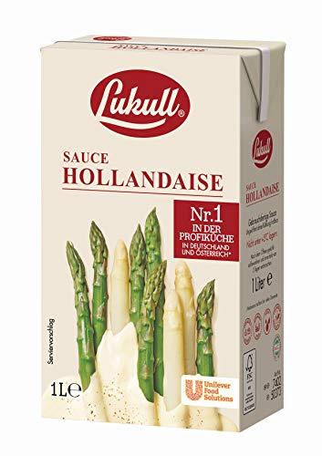 Lukull Sauce Hollandaise (zart, cremig und gelingsicher) 1er Pack (1 x 1 l)
